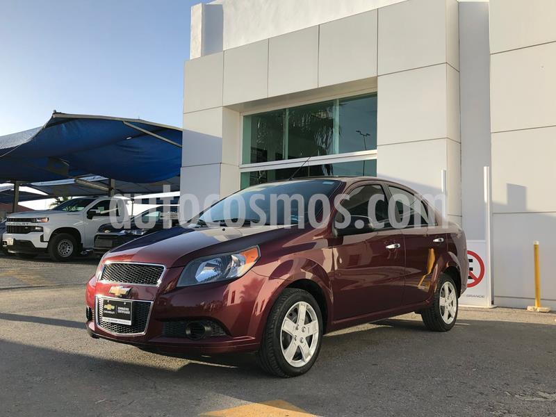 Chevrolet Aveo LT usado (2017) color Rojo precio $135,000