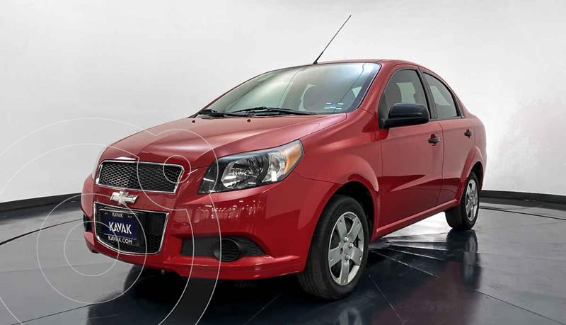 Chevrolet Aveo LS Aut usado (2015) color Rojo precio $122,999
