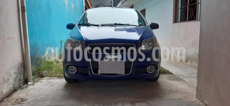 Chevrolet Aveo LT usado (2017) color Azul Oscuro precio $120,000