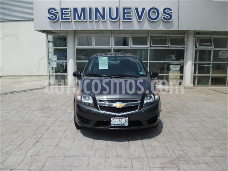 Chevrolet Aveo LS (Nuevo) usado (2018) color Gris Oscuro precio $155,000