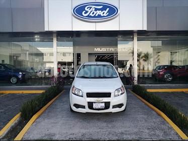 Chevrolet Aveo LT Aut usado (2017) color Blanco precio $132,000