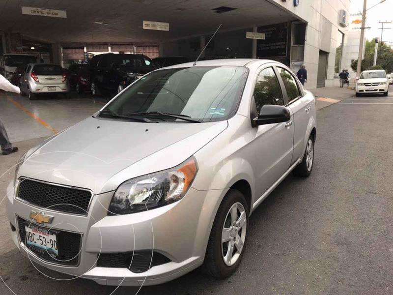 Chevrolet Aveo LT usado (2017) color Plata precio $139,000