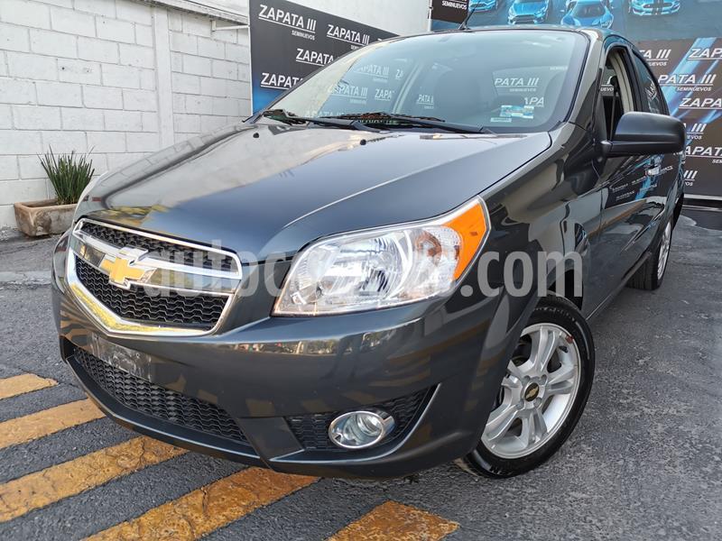 Chevrolet Aveo LTZ usado (2018) color Gris precio $143,000