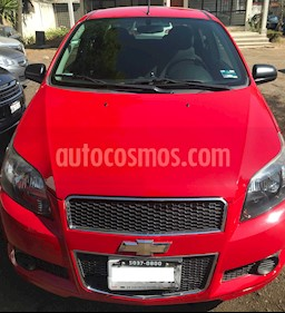 Chevrolet Aveo LT usado (2014) color Rojo precio $97,000