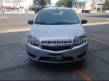 Chevrolet Aveo LS usado (2018) color Plata precio $133,000