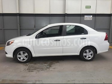 Chevrolet Aveo 4P LT AT A/AC. VE CD BLUETOOTH R-15 usado (2016) precio $130,000