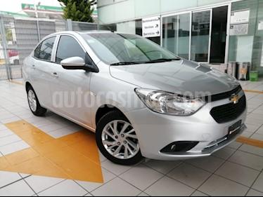 Chevrolet Aveo LT Bolsas de Aire y ABS (Nuevo) usado (2018) color Plata precio $178,000