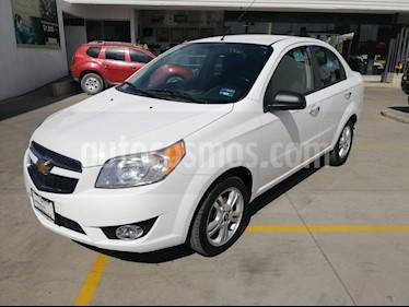 Chevrolet Aveo LTZ Aut usado (2018) color Blanco precio $170,000