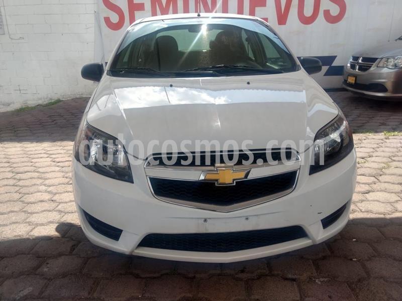 Chevrolet Aveo LS usado (2018) color Blanco precio $137,000