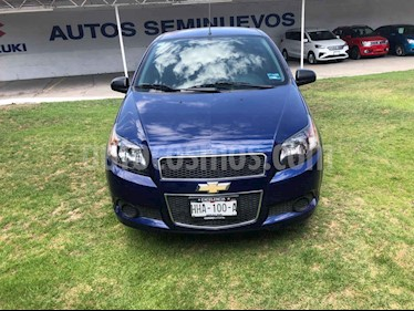Chevrolet Aveo 4p LT L4/1.6 Man usado (2017) color Azul precio $147,010