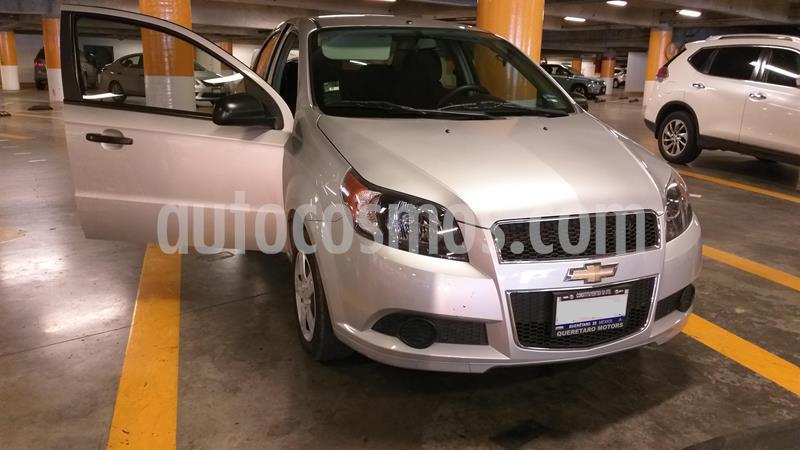 Chevrolet Aveo LS usado (2016) color Plata Brillante precio $107,000