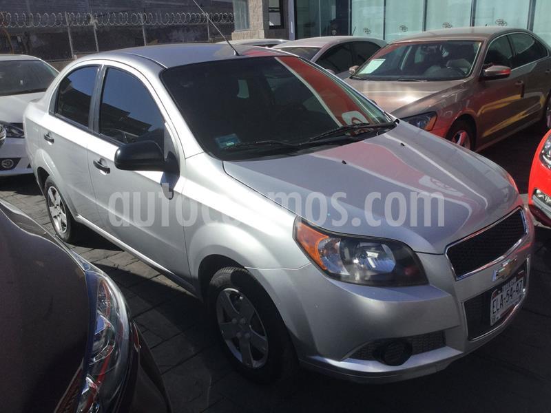 Chevrolet Aveo LS Aa usado (2013) color Plata Dorado precio $87,000