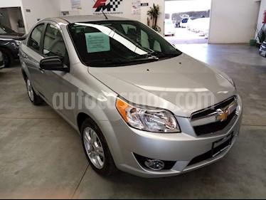 Chevrolet Aveo LTZ usado (2018) color Plata Brillante precio $169,000