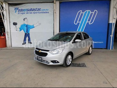 Chevrolet Aveo 4p LT L4/1.5 Man usado (2019) color Plata precio $119,000