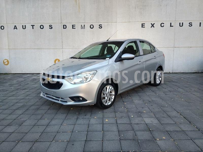 Chevrolet Aveo LT Aut usado (2019) color Plata Dorado precio $185,000