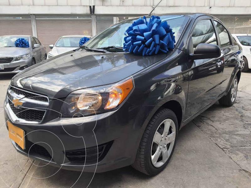 Chevrolet Aveo LT usado (2018) color Gris precio $139,000