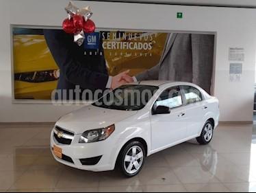 Chevrolet Aveo 4P LT L4/1.6 MAN usado (2018) color Blanco precio $160,900