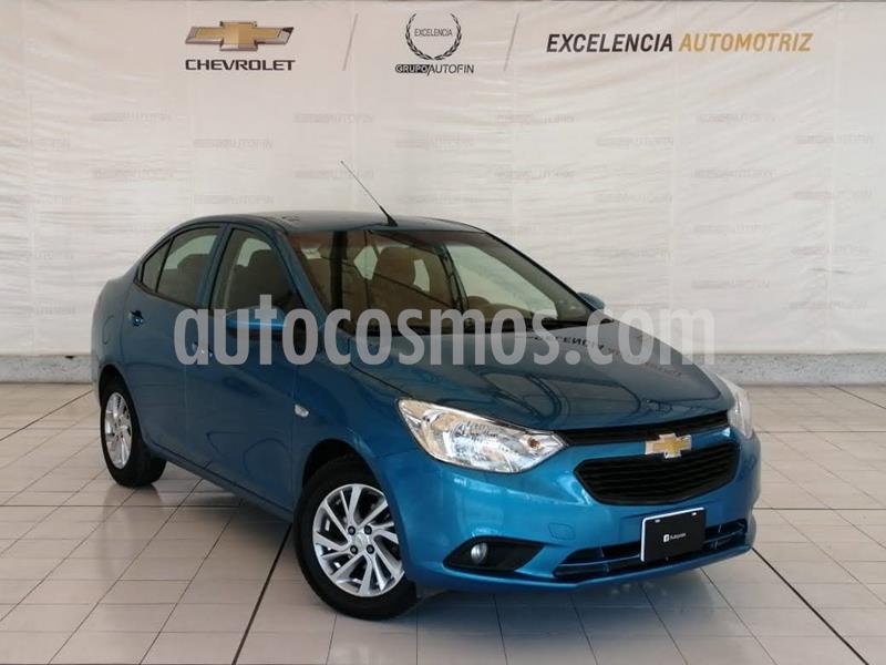 Chevrolet Aveo LT  usado (2019) color Azul precio $189,000