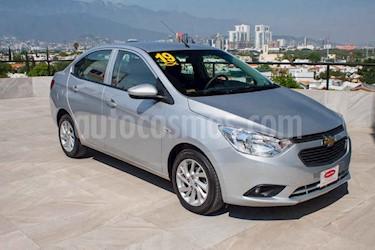 Chevrolet Aveo LT Aut usado (2019) color Plata precio $169,700