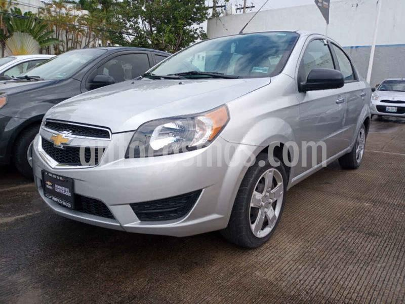 Chevrolet Aveo LT (Nuevo) usado (2018) color Plata precio $175,000