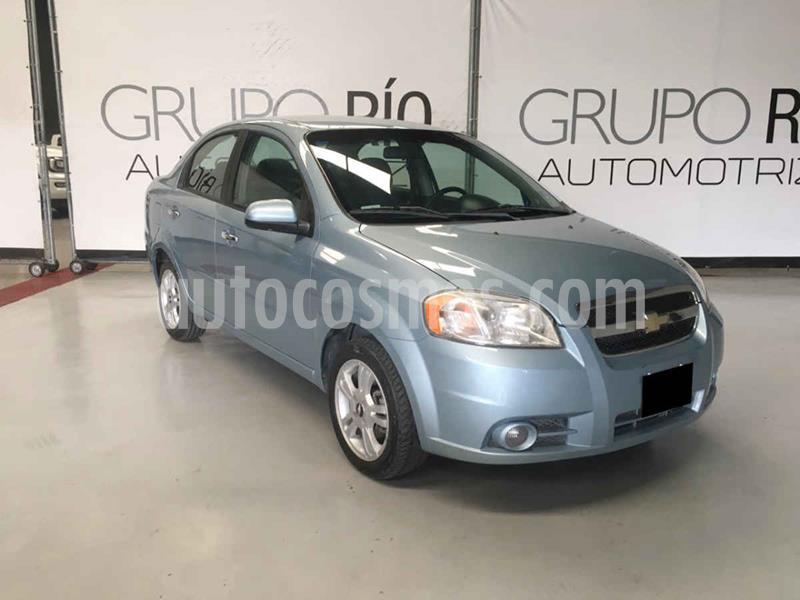 Chevrolet Aveo LT Bolsas de Aire y ABS Aut (Nuevo) usado (2011) color Azul precio $89,000