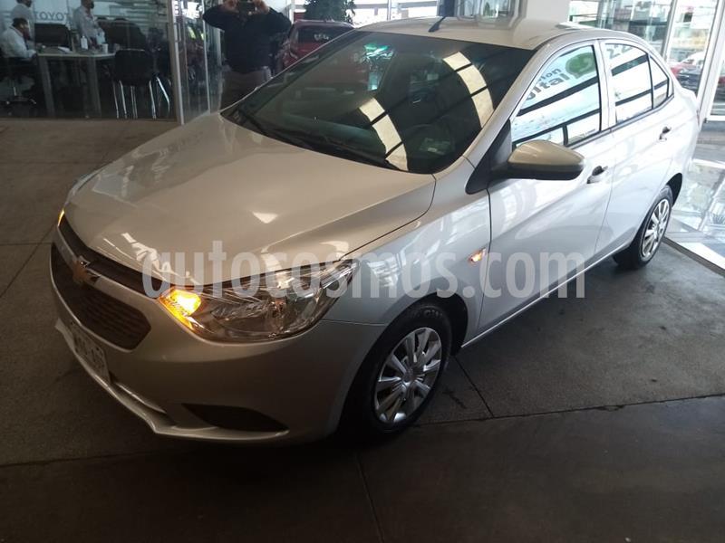 Chevrolet Aveo LS Aut usado (2018) color Plata precio $179,000