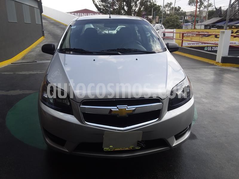 Chevrolet Aveo LS usado (2018) color Plata precio $139,000