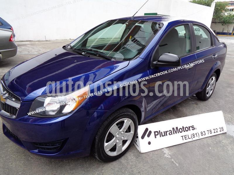 Chevrolet Aveo LT usado (2017) color Azul precio $129,000