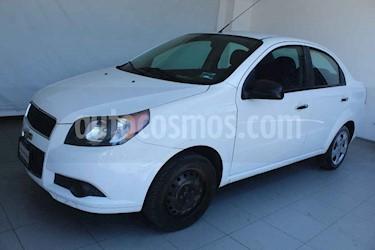 Chevrolet Aveo 4p LT L4/1.6 aut usado (2014) color Blanco precio $109,000