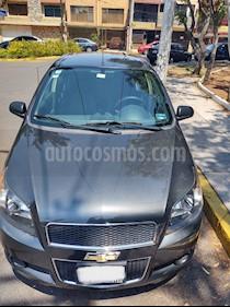 Chevrolet Aveo LT usado (2017) color Azul Metalico precio $130,000