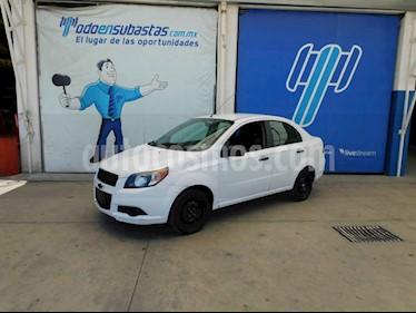 Chevrolet Aveo 4p LS L4/1.6 Man usado (2017) color Blanco precio $48,000