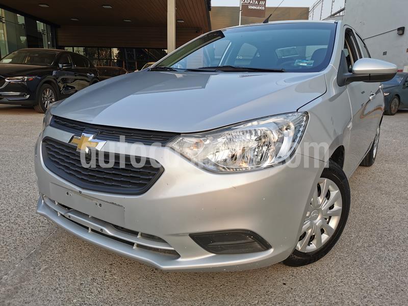 Foto Chevrolet Aveo LS usado (2019) color Plata Brillante precio $160,000