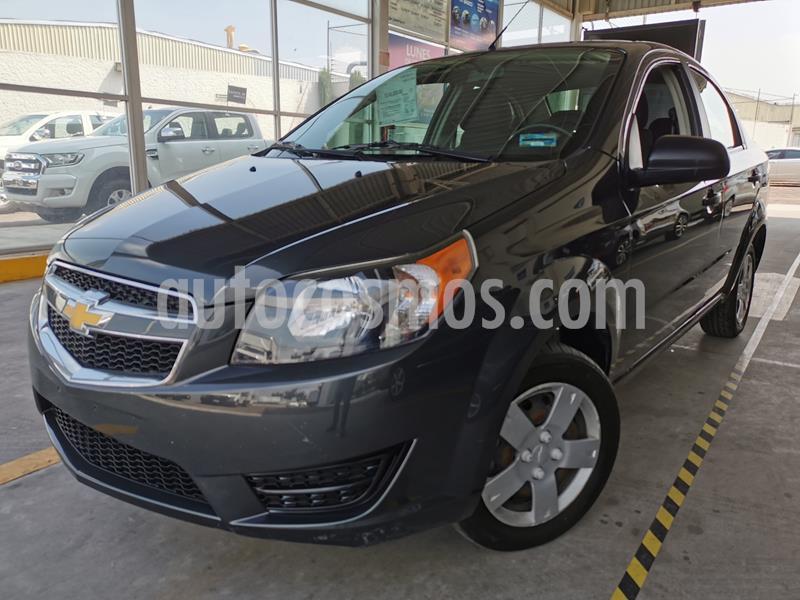 Chevrolet Aveo LS usado (2018) color Gris precio $130,000