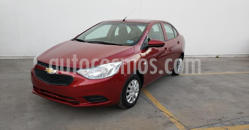 Chevrolet Aveo LS Aa usado (2020) color Rojo precio $176,900