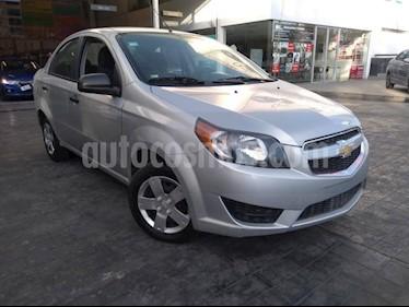 Chevrolet Aveo 4P LS AT A/AC. R-14 usado (2018) color Plata precio $135,000