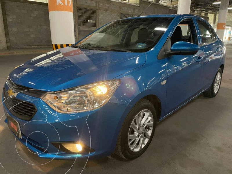 Foto Chevrolet Aveo LT Aut usado (2019) color Azul precio $179,000