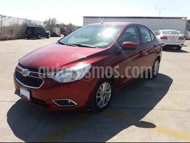 Chevrolet Aveo 4p LTZ L4/1.5 Aut usado (2018) color Rojo precio $149,900
