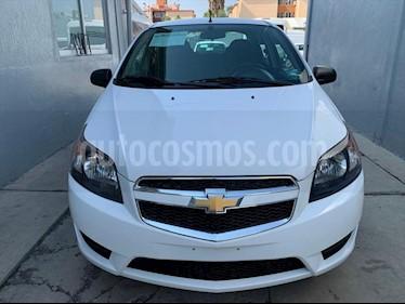 Chevrolet Aveo LS AUTOMATICO usado (2018) color Blanco precio $142,000