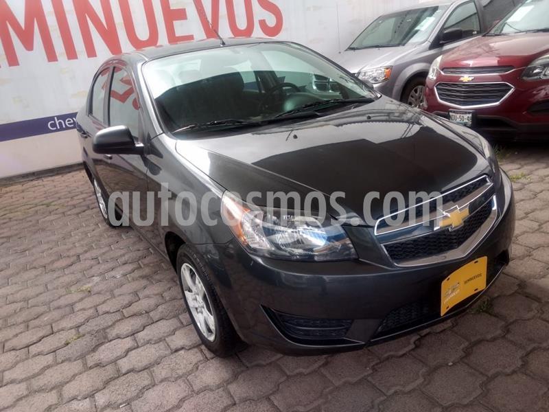 Chevrolet Aveo LS usado (2018) color Gris precio $140,000