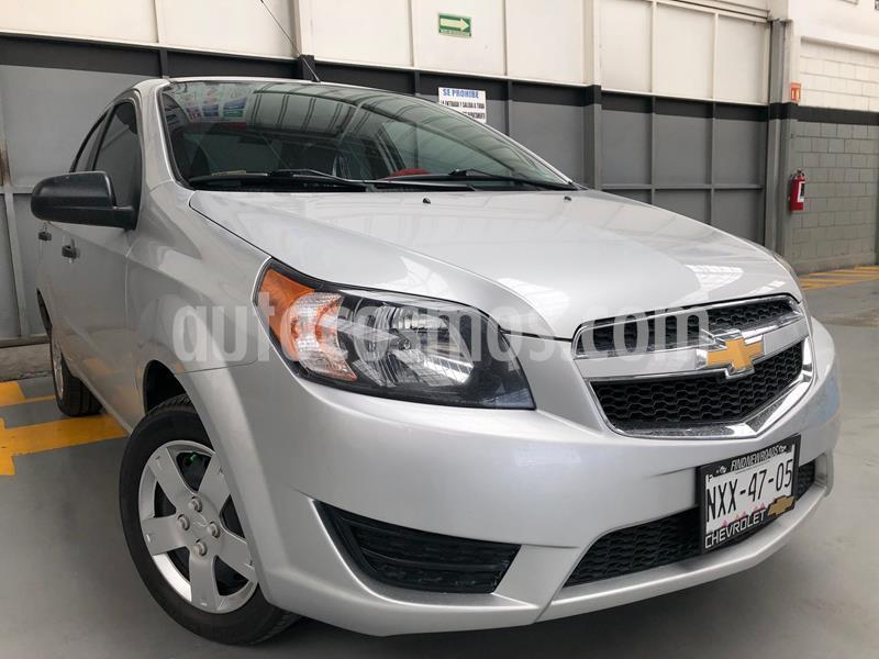 Chevrolet Aveo LS Aa usado (2018) color Plata precio $159,000