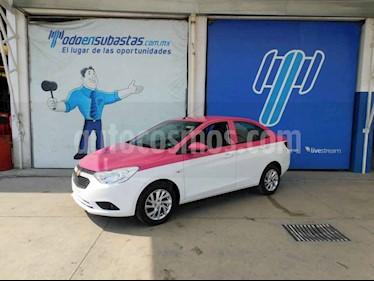 Chevrolet Aveo 4p LT L4/1.6 Man usado (2018) color Blanco precio $97,000