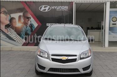 Chevrolet Aveo LT Aut usado (2018) color Plata precio $190,000