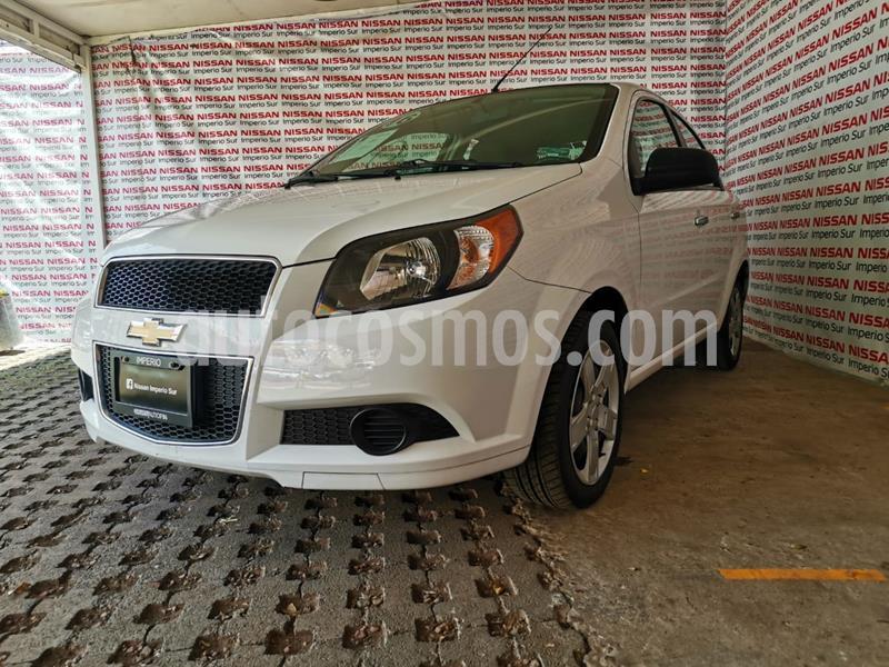 Chevrolet Aveo LT usado (2016) color Blanco precio $125,000