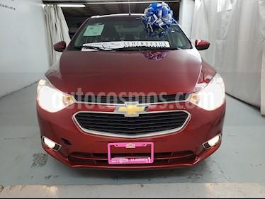Foto venta Auto usado Chevrolet Aveo Paq A (2018) color Rojo Victoria precio $160,000