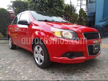 Foto venta Auto usado Chevrolet Aveo Paq A (2013) color Rojo Merlot precio $109,000