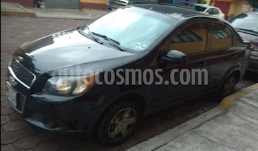 Chevrolet Aveo Paq A usado (2012) color Negro precio $76,000