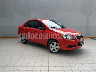 Foto venta Auto usado Chevrolet Aveo Paq B (2016) color Rojo precio $139,000