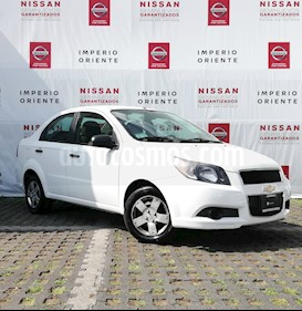 Foto venta Auto usado Chevrolet Aveo Paq B (2013) color Blanco precio $110,000