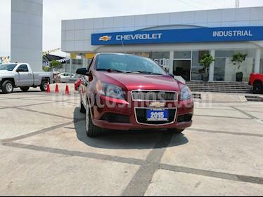 Foto venta Auto usado Chevrolet Aveo Paq B (2015) color Rojo precio $134,000