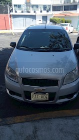 Foto venta Auto usado Chevrolet Aveo Paq B (2012) color Plata precio $80,000